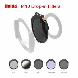 """Haida M10 round """"drop-in"""" filter range"""